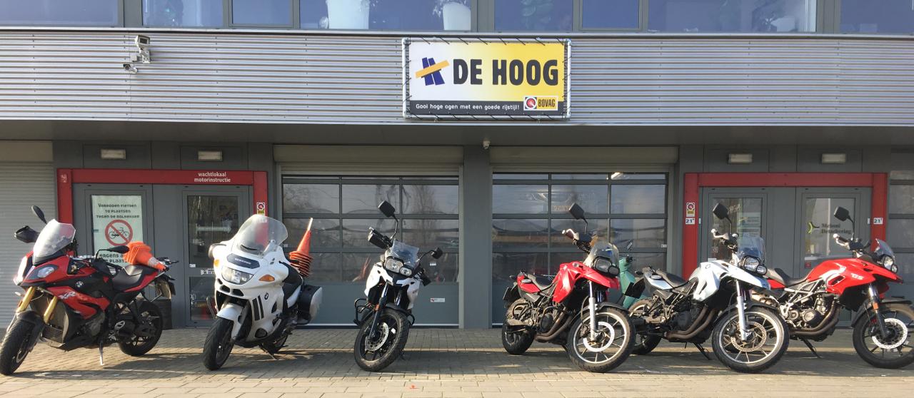 Motor Opstapdag 11 mei 2019 bij Verkeersschool De Hoog