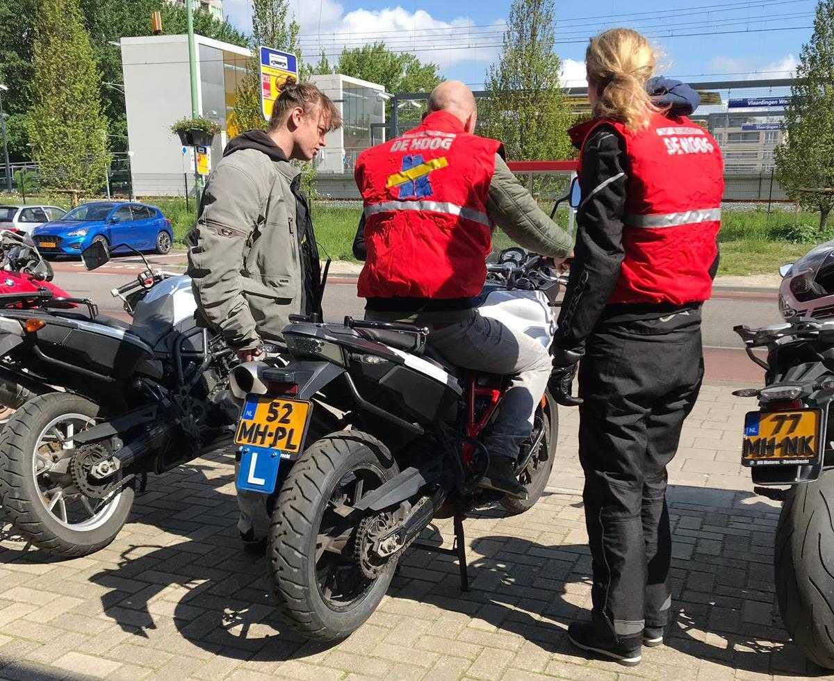 Cursus VRO bij Verkeersschool De Hoog