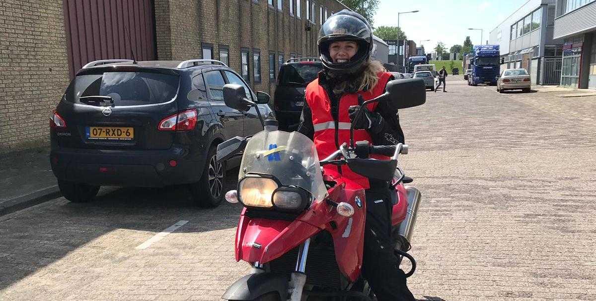 Try-out lessen bij Verkeersschool De Hoog