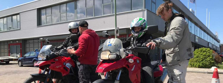 Rijbewijs Motor Turbocursus