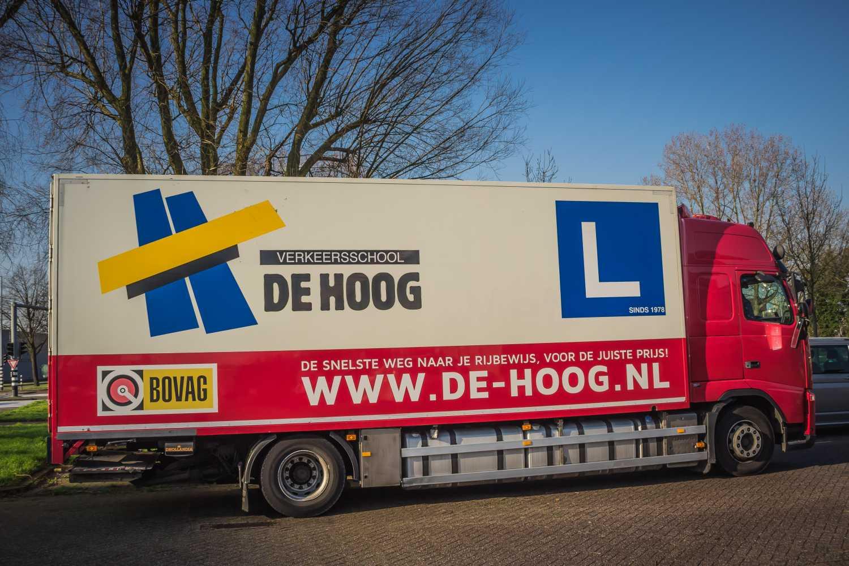 SOOB subsidie bij Verkeersschool De Hoog